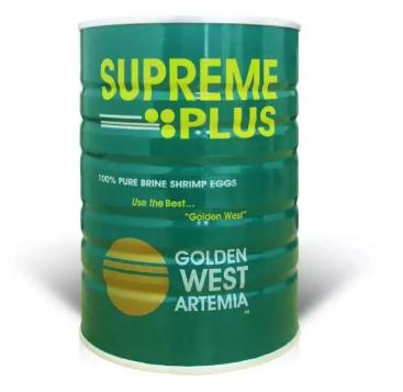 Artemia Supreme Plus Golden West Pakan Benur dan Ikan