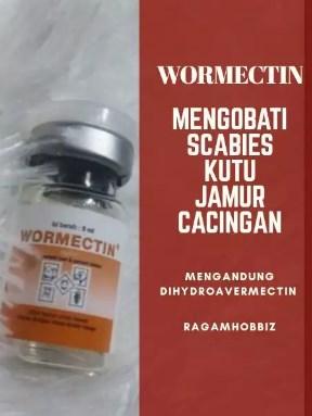 Wormectin obat Scabies + suntikan