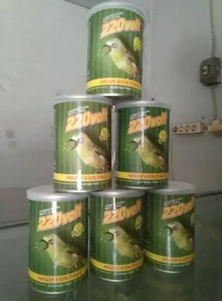 Pakan burung pleci 220 volt