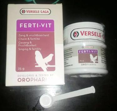 ferti Vit fertivit original vitamin untuk ternak semua burung berkicau