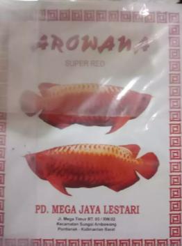 Arwana super red. Banting harga